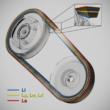 AX profilú fogazott ékszíj különböző hosszúságokban