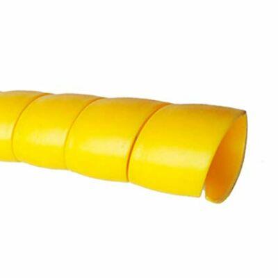 Tömlővédő spirál 27mm x 32mm, Sárga