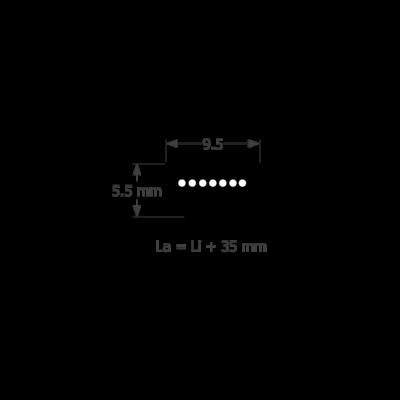 3L profilú fűnyíró ékszíj