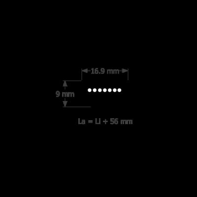 5L profilú fűnyíró ékszíj