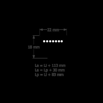 SPC ékszíj profil