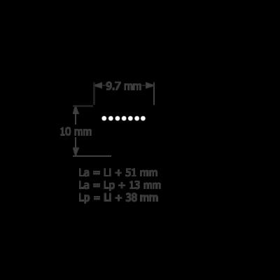 9,5 profilú ékszíj