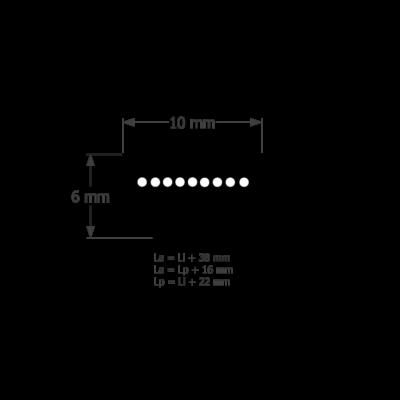 ékszíj ZX profil