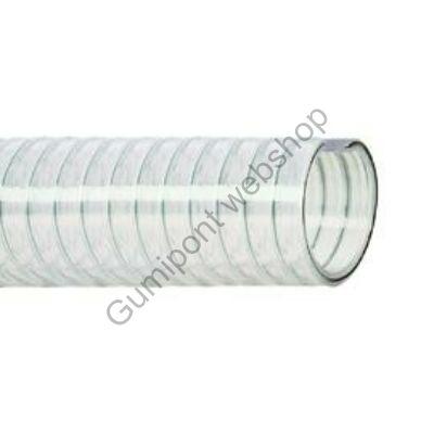 PVC víztömlő acélspirál erősítéssel