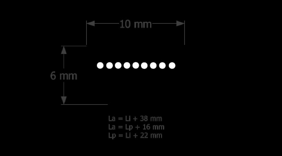 10-es profilú ékszíj különböző hosszúságokban - Általános ékszíjak c5a91541d2